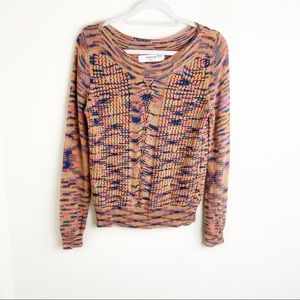 Anthropologie Sparrow Multi-color Sweater